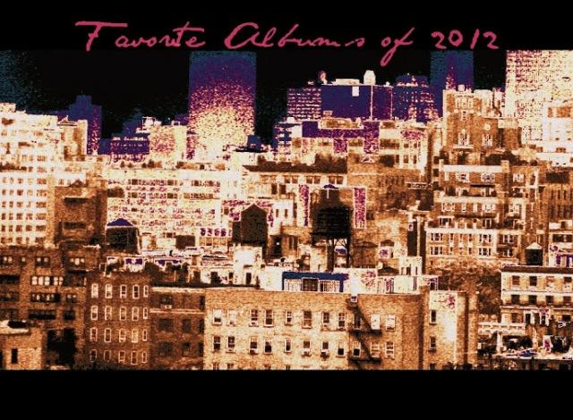 favoritealbumsof2012